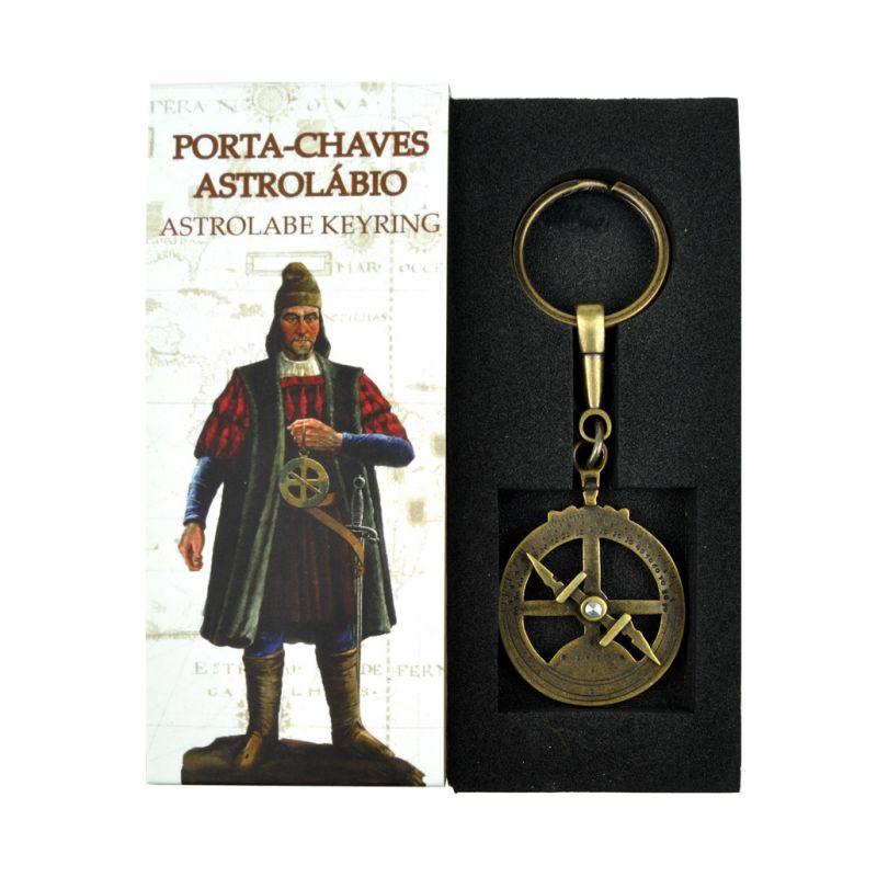 Porta-Chaves Astrolábio Náutico