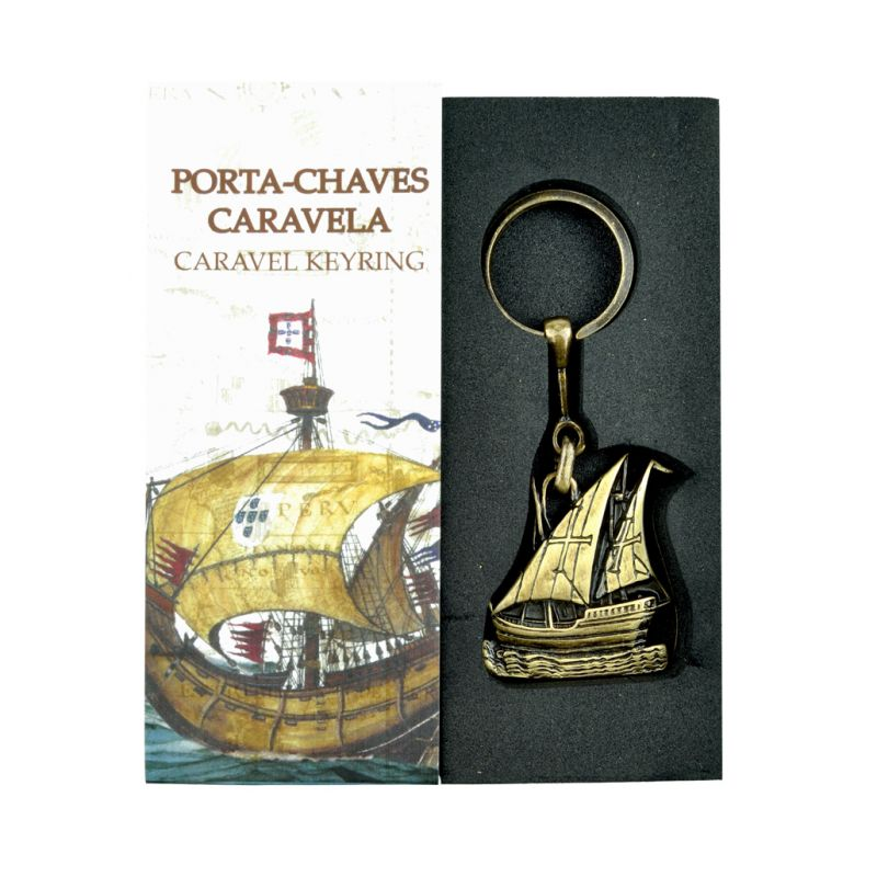 Porta-Chaves Caravela