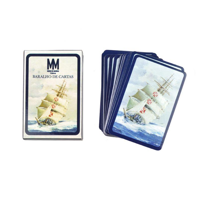 """Baralho de cartas """"Embarcações"""""""
