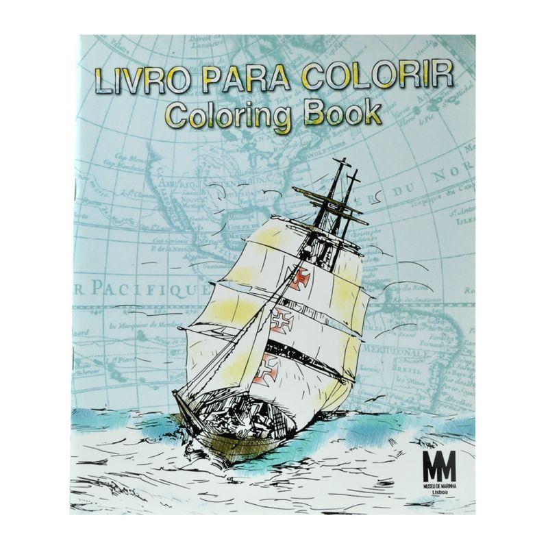 Livro para Colorir do Museu Marinha