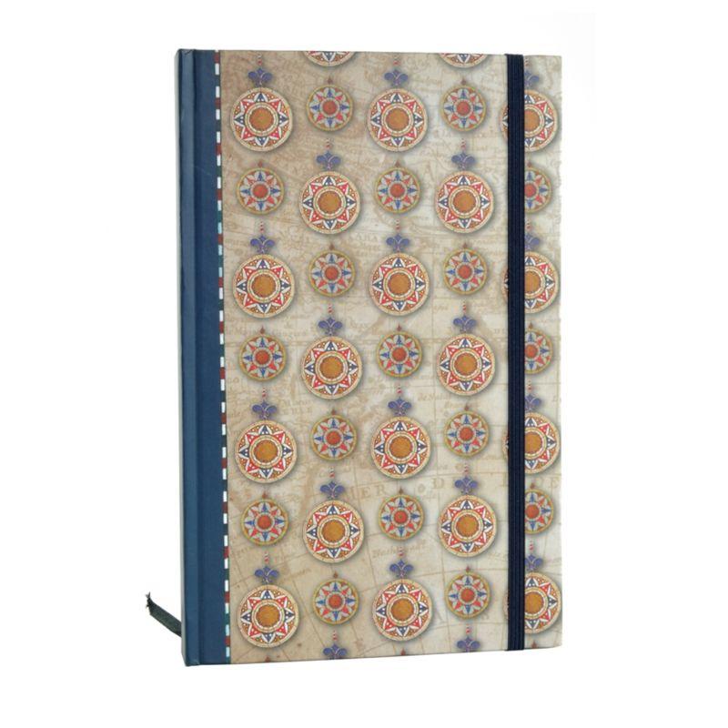 Caderno A5 Rosa dos Ventos