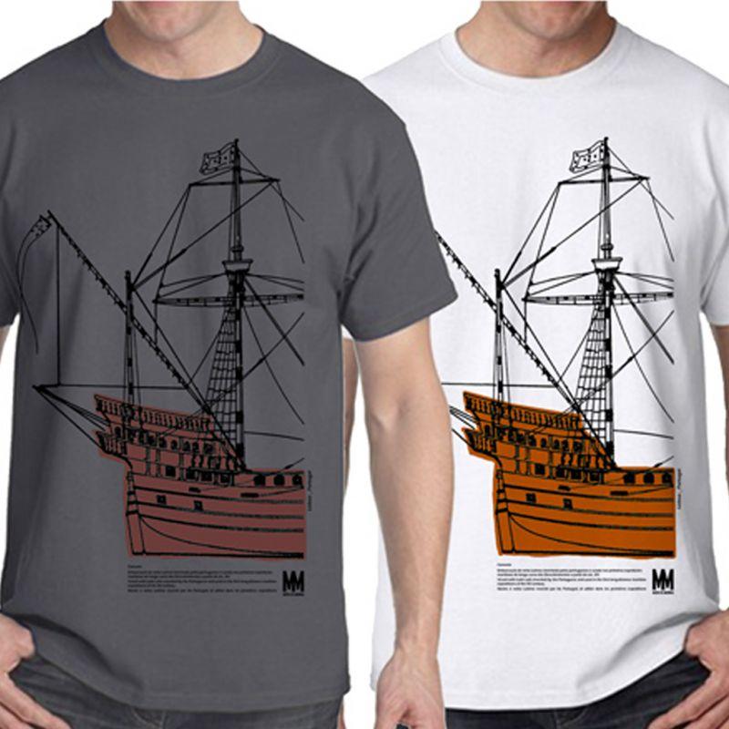 T-shirt Caravela