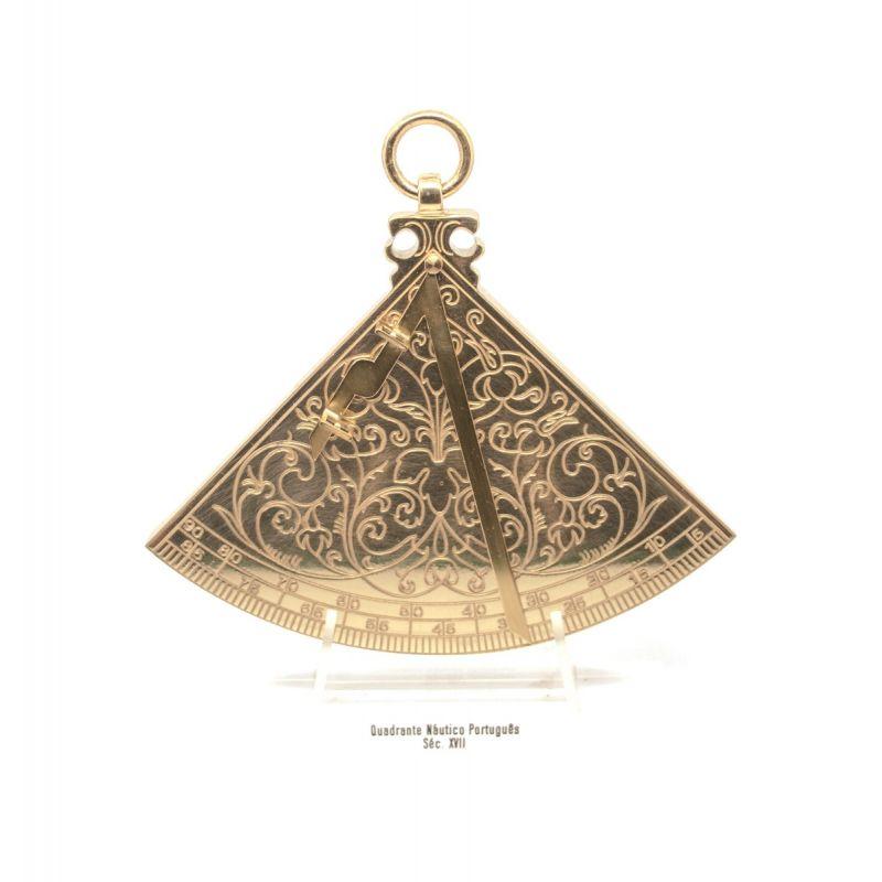 Quadrante em bronze fundido