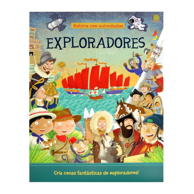 Exploradores - História com Autocolantes