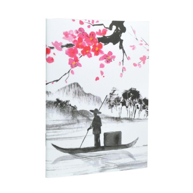 Caderno A6 perfumado Japão