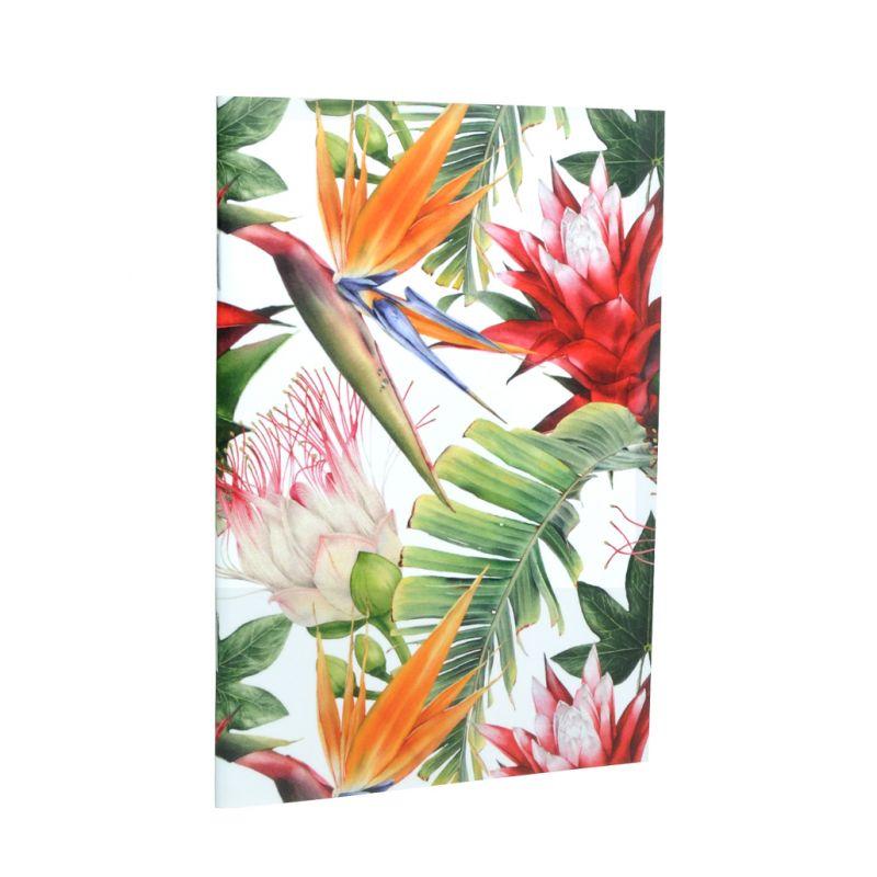 Caderno A6 perfumado Madeira