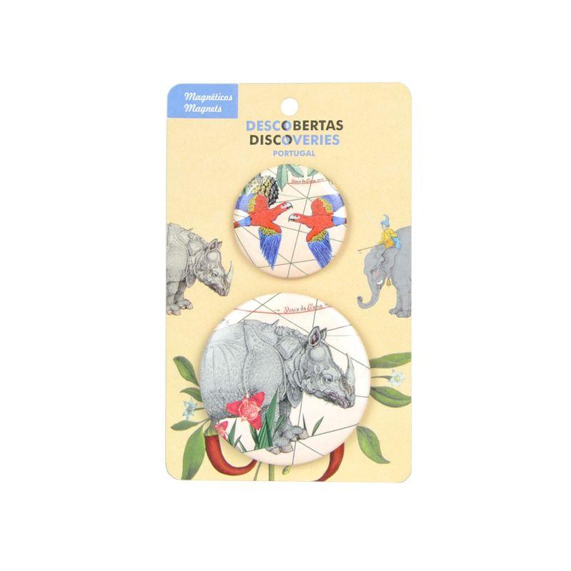 Conjunto de Magnéticos Rinocerus
