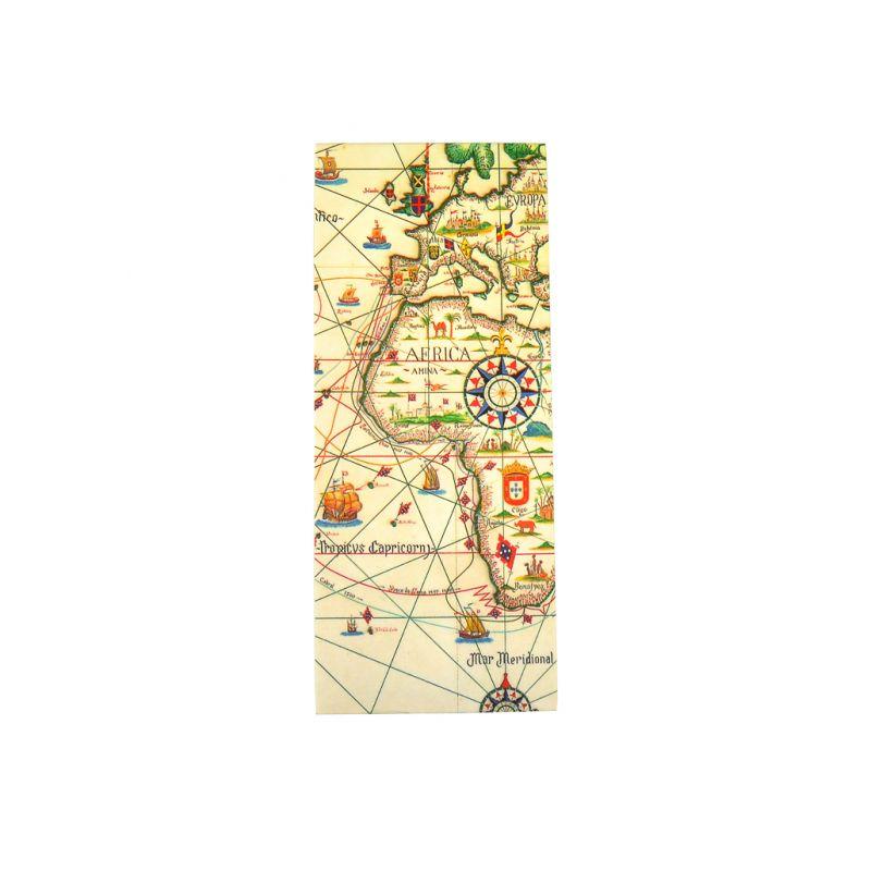 Marcador de livros clip magnético Mapa
