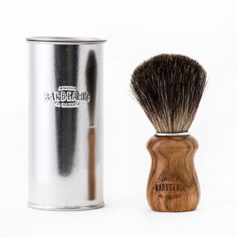 Pincel de barba cerda de Texugo