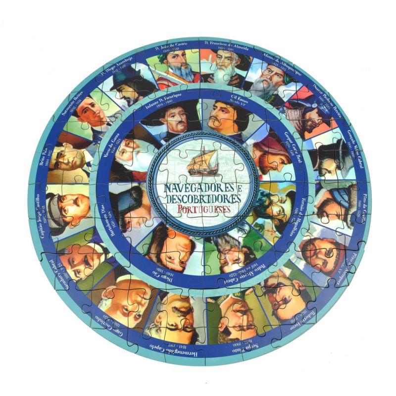 Puzzle de Madeira - Navegadores
