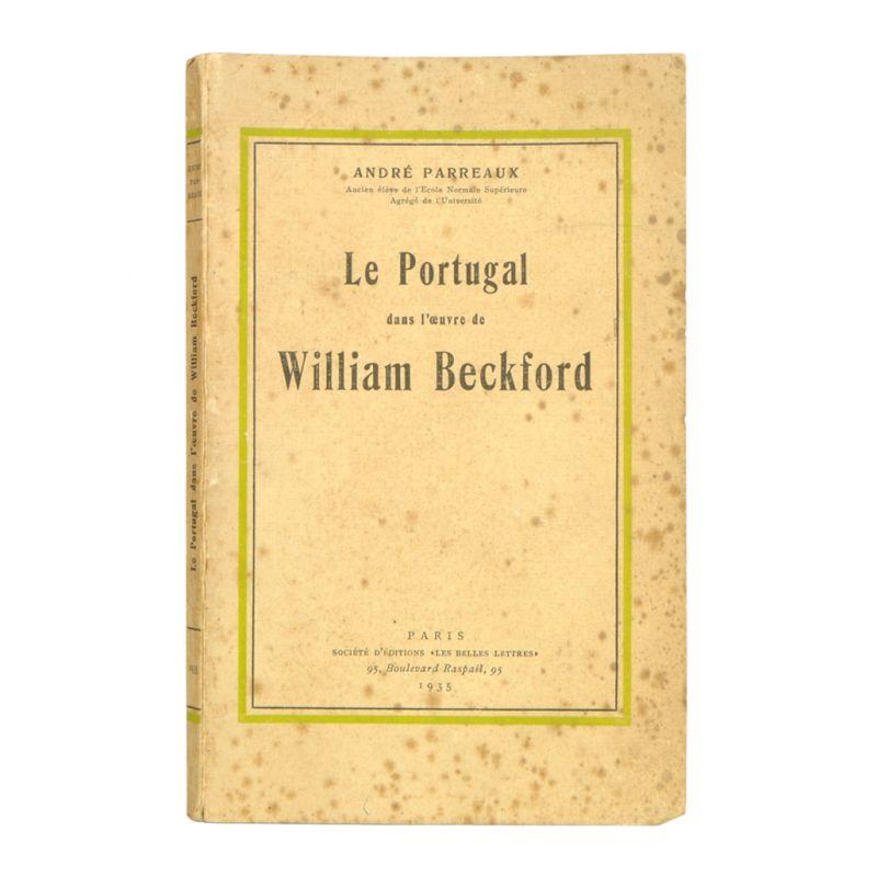 Le Portugal dans l´oeuvre de William Beckford