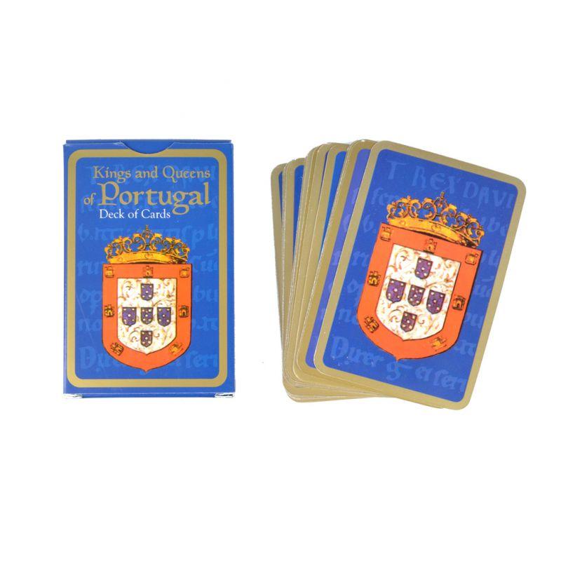 Baralho de Cartas Reis e Rainhas de Portugal