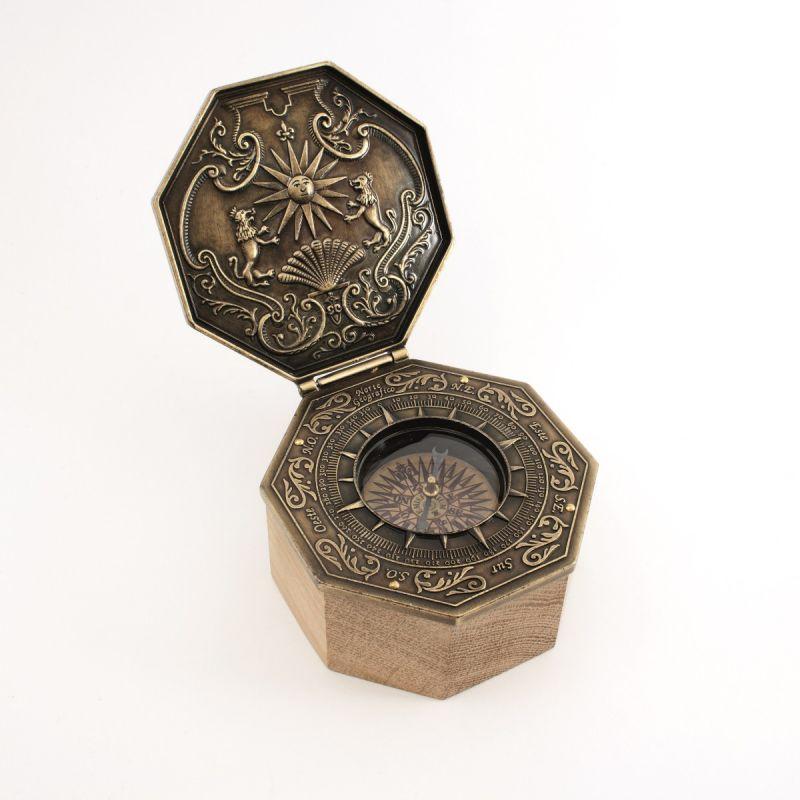 Bússola Octogonal Magnética