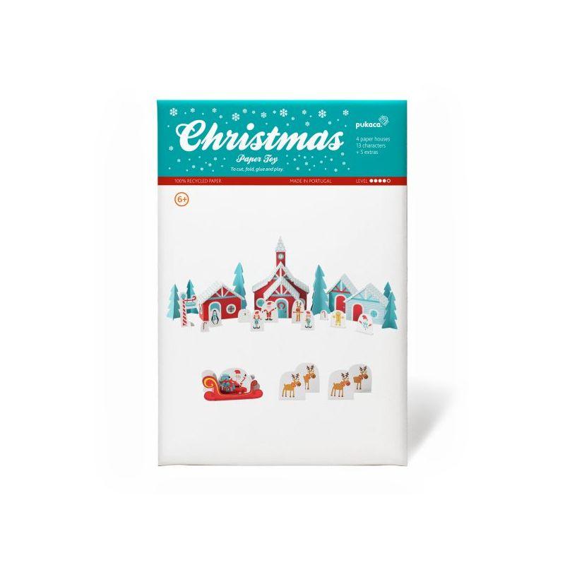 Aldeia do Pai Natal em Papel