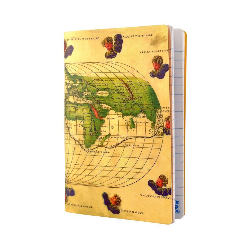 Caderno de linhas A6 Atlas Portulano