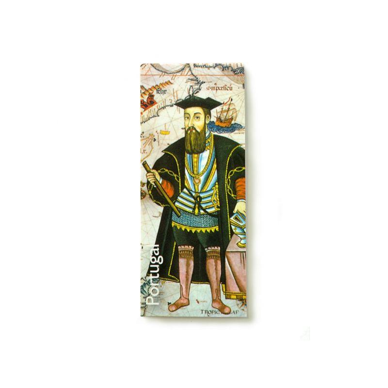 Marcador de livros clip magnético Vasco da Gama