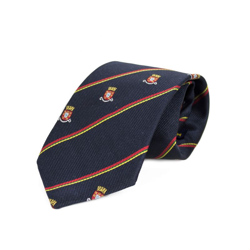 Gravata de seda Brasão