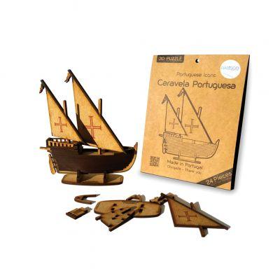 Caravela - Puzzle 3D
