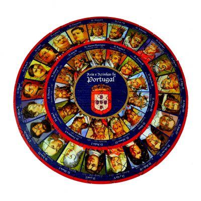 Puzzle de Madeira - Reis e Rainhas de Portugal