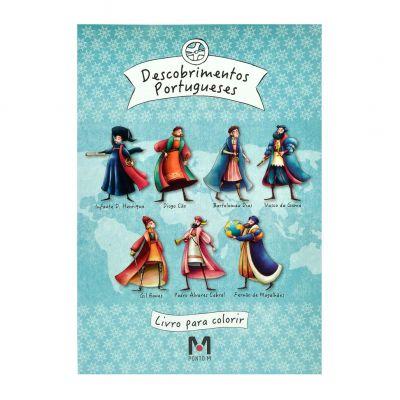 Livro para Colorir Descobrimentos Portugueses