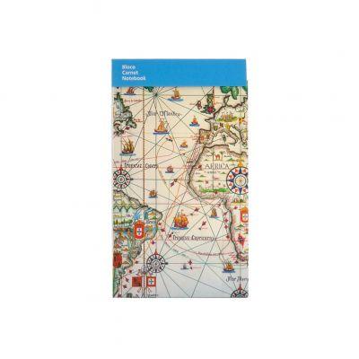 Bloco A8 Mapa dos Descobrimentos Portugueses